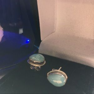 Jewelry - Sterling Larimar Teardrops